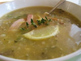 zucchini bacon soup